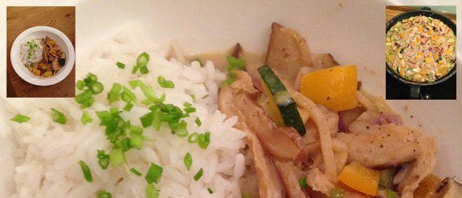 Veganes Grünes Curry