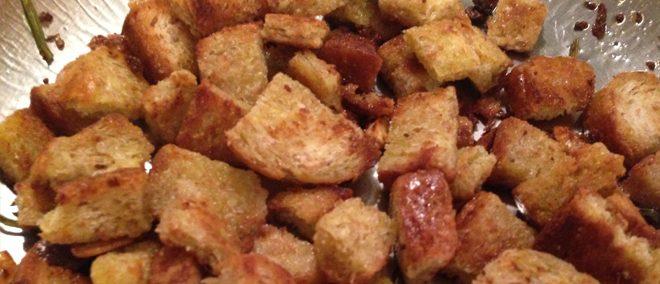 Vegane Croutons