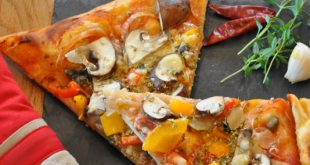 Vegane Pizza - Rezept