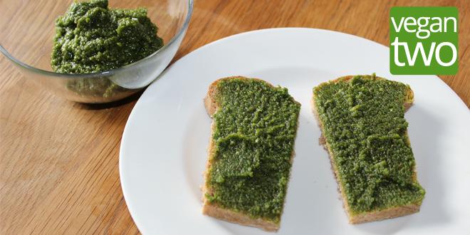 Rezept - veganes Petersilien-Pesto