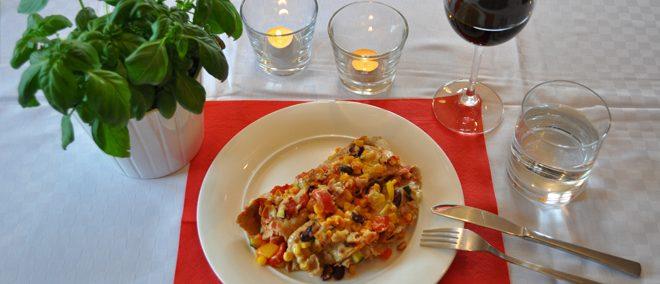 Rezept - vegane Enchilada Verdura