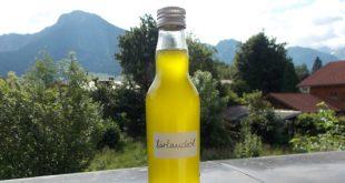Veganes Bärlauchöl - Rezept