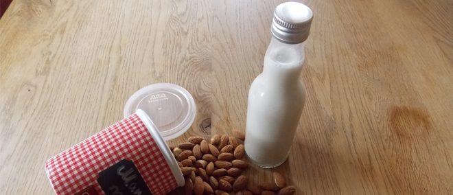 Vegane Mandelmilch - Rezept