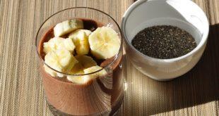 veganer Schokopudding mit Chia Samen - Rezept