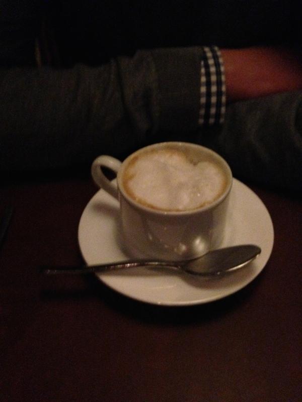 veganer Soja Cappuccino