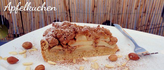 veganer Apfelkuchen - Rezept