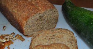 veganes Zucchinibrot - Rezept