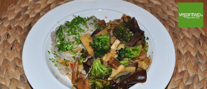 veganes Chop Suey - Rezept