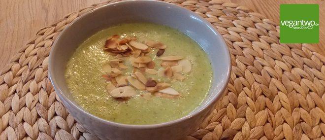 Vegane Brokkolisuppe - Rezept