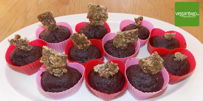 Rezept für vegane Muffins mit Chiasamen