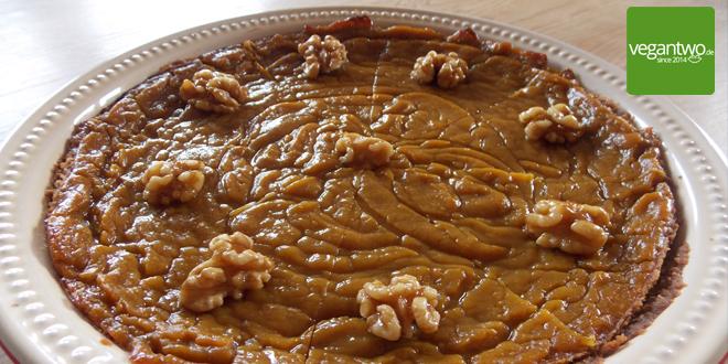 Rezept für einen veganen Pumpkin Pie