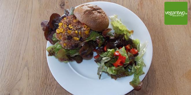 Rezept für einen veganen Kidneybohnenburger
