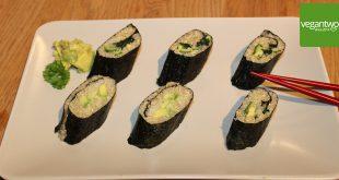 Sushi mit Quinoa
