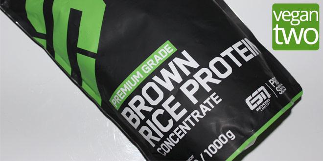 veganer Reisprotein Drink für Sportler im Test