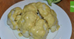 Blumenkohl mit Erdnuss-Sauce