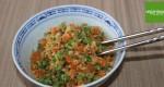 """Gebratener """"Reis"""" aus Blumenkohl mit Gemüse"""