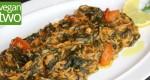 Spanakoriso (griechischer Spinatreis)